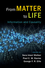 From Matter To Life - book cover